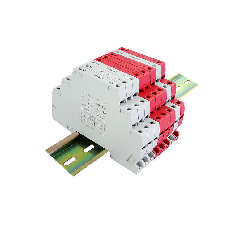 High Shielding Performance Signal Surge Protector / Rs485 Surge Arrester 24V Control
