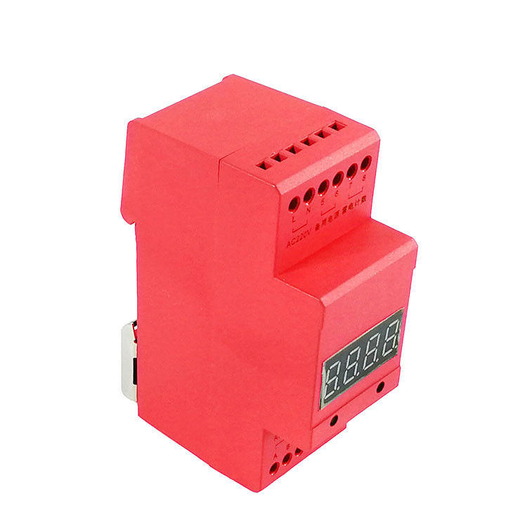 Red Color Lightning Strike Counter / Lightning Surge Counter 2 Year Warranty